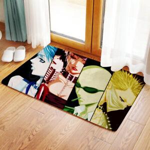 Black Stones NANA Osaki Bedroom Bathmat Rug Toilet Floor Cover Carpet Non-slip