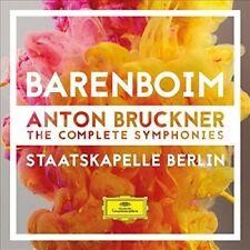 ANTON BRUCKNER-THE COMPLETE SYMPHONIES  9 CD NEU