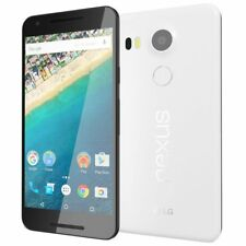 "New Factory Unlocked LG Google Nexus 5X H791 32GB 4G LTE 5.2"" Smartphone White"