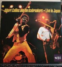 ALBERT COLLINS AND THE ICEBREAKERS-LIVE IN JAPAN- vinile 33 giri nuovo