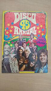 "Disco 45 annual 1977 edition  ""vintage retro annual book""  Queen,Abba..."