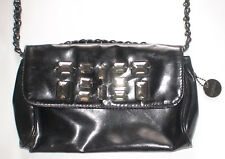 Fiorelli Black Vinyl Handbag/Bag