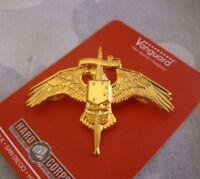 US Usmc Marsoc Wings Badge Pin Marine Raider Insignia Spiritus Invictus GOLD