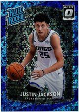 2017-18 Donruss Optic Fast Break Prizm Justin Jackson RC 18/155 #158