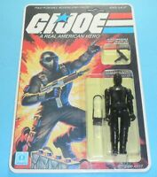 1982 GI Joe Snake Eyes Straight Arm Complete MOC Sealed *CUSTOM* Card Back *READ