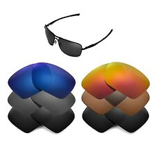 Walleva Replacement Lenses for Oakley Plaintiff Squared - Multiple Options