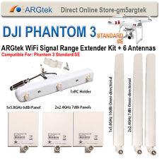 ARGtek DJI Phantom 3 Standard/SE Range Extender Kit 6 antennas