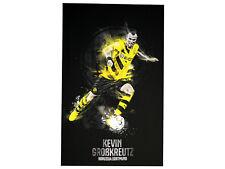 BVB 09 Kevin Großkreutz Kunstdruck 80X50cm Borussia Dortmund Wandbild Fanartikel