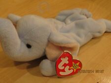 TY Original Beanie Baby.... RARE..Peanut the Elephant, DOB 1-25-95, New w/tags