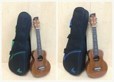 Leaf Concert Ukulele,All-Mahogany+Free Padded Gig Bag,3 Picks L100