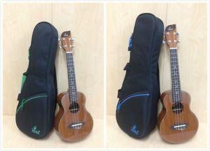 Leaf L100 Concert Ukulele,All-Mahogany,Natural w/Free Padded Gig Bag,3 Picks