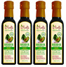 Avocado Oil Garlic Flavoured 250ml x 4 for Cooking, Drizzling - La Ricetta