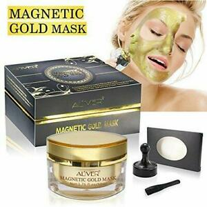 Aliver Magnetic Gold Mineral-Rich Face Mask Iron Based Skin Age-Defier Formula