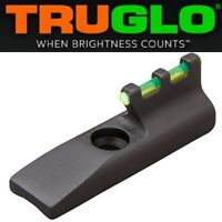 TRUGLO GREEN Fiber Optic Front Sight RUGER MK 1 2 3 4 22/45 Browning Buck Mark