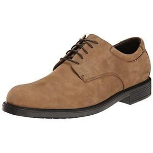 Rockport Mens Margin Nubuck Derby Lace Up Oxfords Shoes BHFO 8025