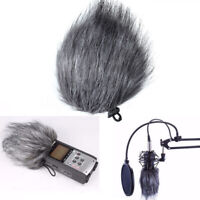 Anti-Wind Noise Prevention Microphone Muff Fur Windshield Cover For Zoom