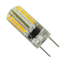 10pcs G8 T4 64 3014 SMD LED Light Bulb Silicone Dimmable Lamp 110V Warm White