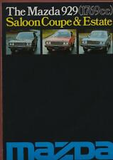 Mazda 929 (1769cc) Saloon Coupe & Estate 1976-78 UK brochure   rb.11