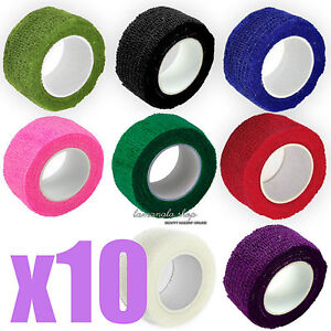 50PCS x Nail Files Nail Art Manicure 100/180 & 10pcs x Nail Tapes Bandage Choose