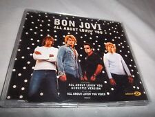 BON JOVI-ALL ABOUT LOVIN' YOU-3 TRACKS & VIDEO 9800242 MINT UK CD