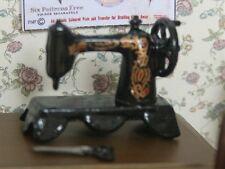1/12 miniature MACCHINA DA CUCIRE NERO sa02