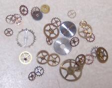 Steampunk Watch Parts 100 GEARS & WHEELS ONLY Altrd Art