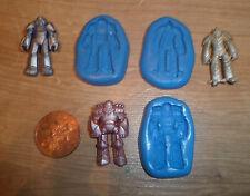 Nuevo conjunto de 3 Transformers Molde Molde Sugarcraft Fimo Arcilla Polimérica