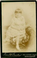 Victorian Cabinet Photo - YOUNG GIRL -  Costume - Brookes of  Manchester