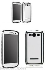 OEM  Body Glove Tactic Shell Case White Grey For Samsung Galaxy S3 S 3 III SIII
