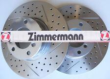 Mercedes  E55 AMG 99-02 D/S Zimmermann  Brake Rotors R