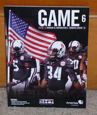 2013 Nebraska vs Northwestern Wildcats BIG 10 Football Program Played 11-2-13