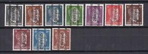 Austria - Steiermark - 1945 - Michel Nr. 674/680, 682, 684/685 - Ungebr.