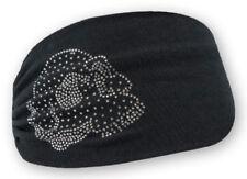 Harley-Davidson Women's Embellished Krystal Skull Headband Scrunchie HE26530