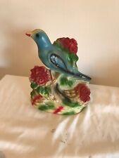Carnival Chalk Blue Bird Figure