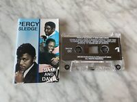 Percy Sledge Sam And Dave CASSETTE Tape 1991 Golden Circle GK67703 RARE! OOP!