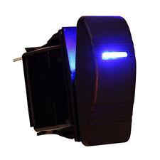 12V Auto Boot Wippe LED Licht beleuchtet SPST Ein-Aus Schalter Wasserdicht Ma J1