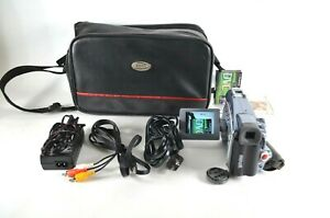 Canon ZR80 Mini DV Camcorder Barely Used Fully Functional All Cables Included