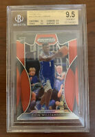 ZION WILLIAMSON 2019 PANINI PRIZM DP #64 RED PRIZM REFRACTOR ROOKIE RC BGS 9.5