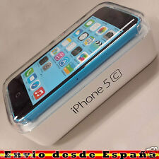Telefono Movil Original Apple iPhone 5c Azul Libre Nuevo OUTLET