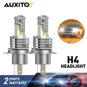 2pcs HB2 9003 H4 LED Headlight Bulb Conversion Kit High Low Beam 6000K White 10S
