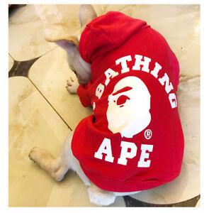 NEW Animal Pet Dog Cat Sweartershirt Hoodie Coat Pet Puppy Hoodie Clothes