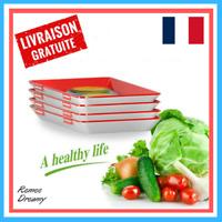 1 pc Plateau De Conservation Des Aliments Boite Hermétique Assiette Conservation