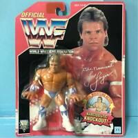 Hasbro Figure WWF WWE Rex Luger Wrestling 1994 Red US card Vintage Unopened