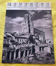 1959 ALBI (TARN). LA CATHÉDRALE SAINTE-CÉCILE.