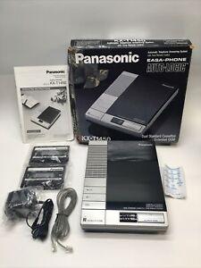 PANASONIC  ANSWERING  MACHINE - KX-T1450 - DUAL CASSETTE - Open Box