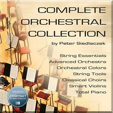 NEW Best Service Complete Orchestral Collection Choir Strings Violin Sampler
