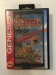 PAC-MAN 2: The New Adventures (SEGA Genesis, 1994) BOX ONLY NO GAME