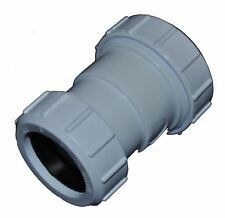 Compression 50mm x 40mm Waste Pipe Reducing Coupling