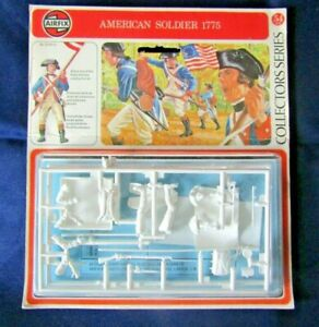 Airfix 54mm American Soldier 1775 Sealed Model Kit (E)