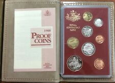 1988 Royal Australian Mint Proof Set of 8 Coins